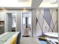 吉北2楼58.45平二室二厅,标套,简约欧式装,车库8.26平,85.8万满两年