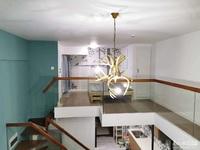 翰林世家LOFT单身公寓,21楼,朝东,拎包入住