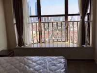 10金色水岸26楼朝南精装单身公寓2500/月