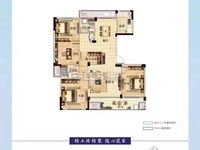 汎港润合8楼128.46平方毛坯152.8万车位另售可不买