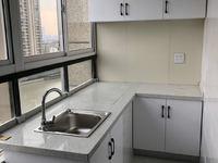 景鸿铭城单身公寓精装修,家电齐全,带阳台朝南河景,可办营业执照开公司或住宿