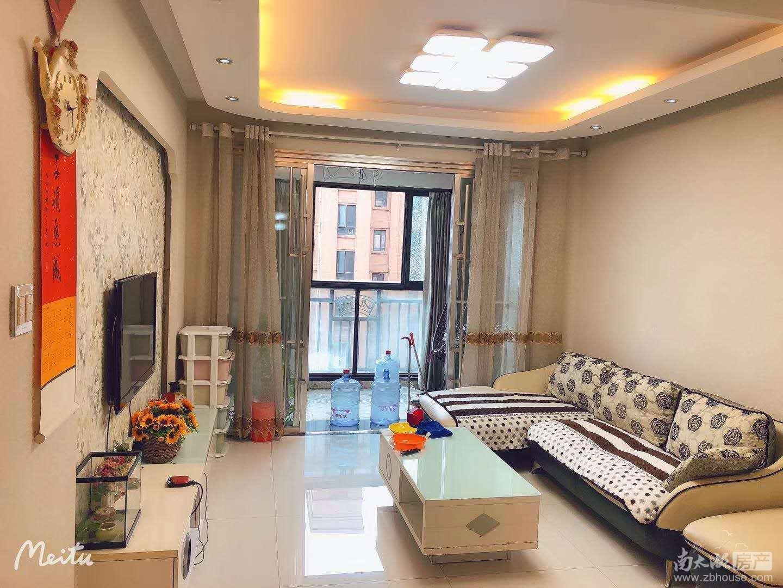 山水华府9楼,88平米,精装,二室二厅,拎包入住,价3000元/月可协商