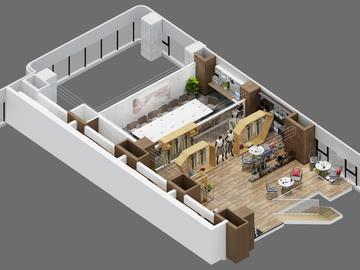 loft办公4合1-2F(丝绸小镇创谷项目)