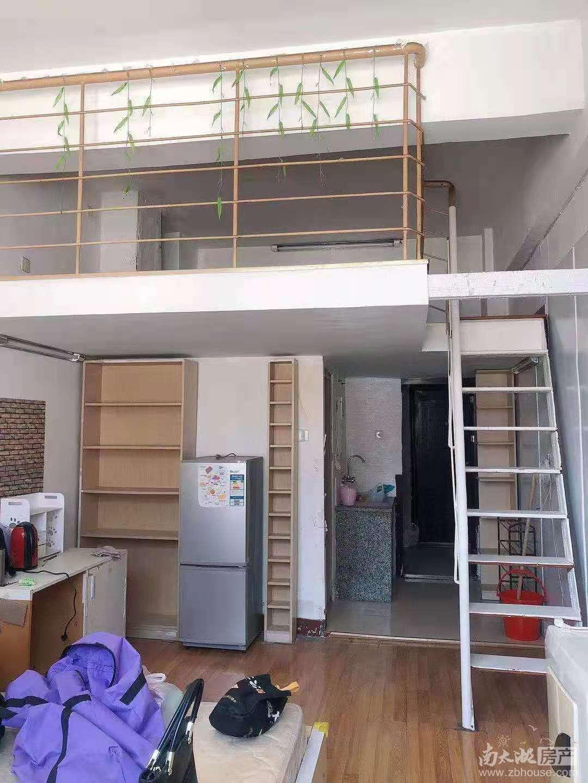 出租明都北楼单身公寓loft式家具家电