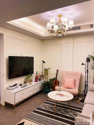 三洋阳光海岸多层4楼50.23平,豪装一室二厅,南北通透,家具家电齐全,报81万