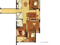国贸仁皇二期,中间楼层,四房两厅两卫,不满2年,无车位,全新毛坯,视野超级好