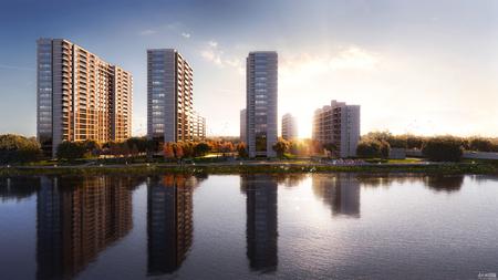 运河 外滩里古镇旁 双林 运河外滩里 滨河住宅 首开特惠