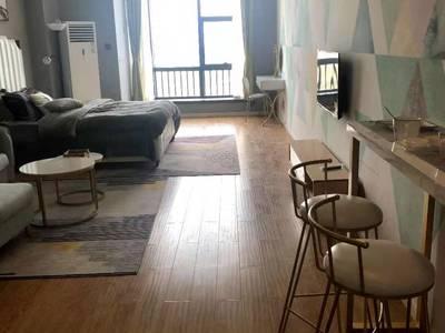 凤起大厦单身公寓15楼 朝南 精装修 家电齐全 40年产权 报价76.8万