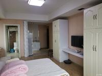 房东直接出租17858753057豪华单身公寓一房一厅,家电家具俱全