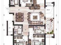 :仁皇片区赞成名仕府中间楼层,120平,四室两厅,毛坯,一口价200万 含车位