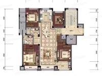滨江十里春晓洋房2楼,128方,四叶草户型,带两个车位305万