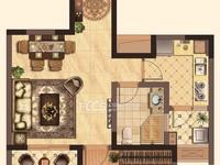 出租御湖天誉1室2厅1卫69平米1500元/月住宅