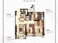 包营业税!!仁皇吾悦商圈,视野好中上楼层,三室两厅两位卫,三开间看房有钥匙