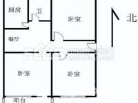 东南通透精装3居 主卧客厅都朝南 采光超棒 户型设计合理