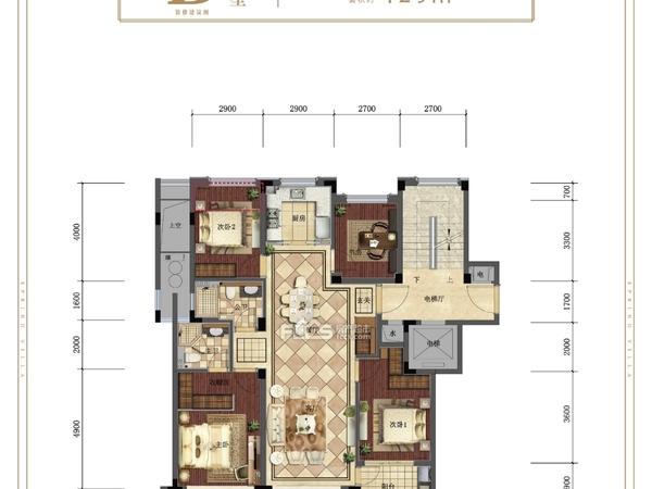 十里春晓洋房2楼 楼王位置 四叶草户型 总价含一个产权车位 房东包二税