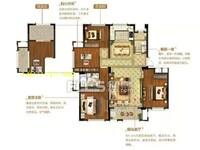 纯洋房中间楼层双阳台,赠送10平,全小区价
